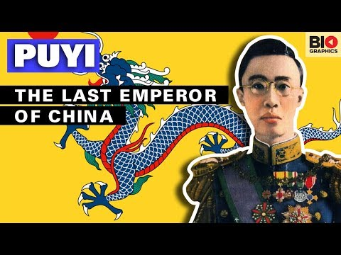 Puyi: The Last Emperor Of China