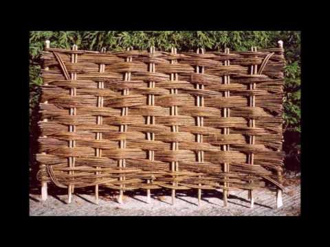Плетень и другое из прутьев лозы