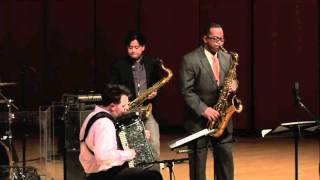 Julien Labro, Jon Irabagon & Victor Goines: Epistrophy (T. Monk)