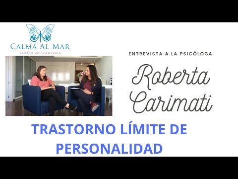 Trastorno Límite de Personalidad.  Entrevista ROBERTA CARIMATI