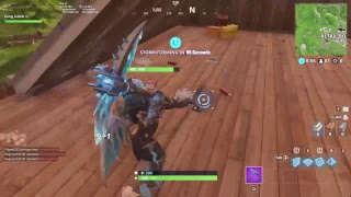 Trying to get a solo win in fortnite 542 trys