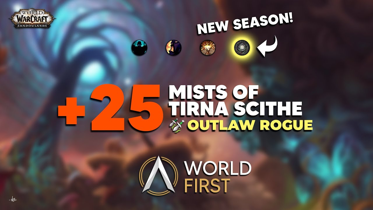 Download WORLD FIRST +25 Mists   Shadowlands Season 2   Ambition   JPC Rogue PoV
