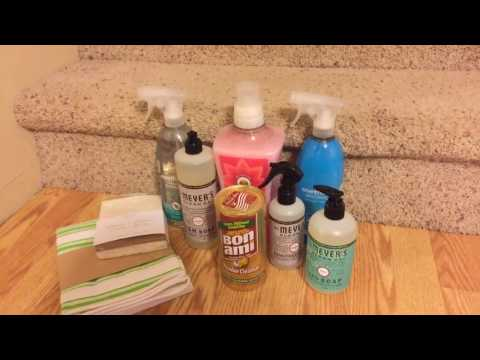 Cleaning Supplies Haul