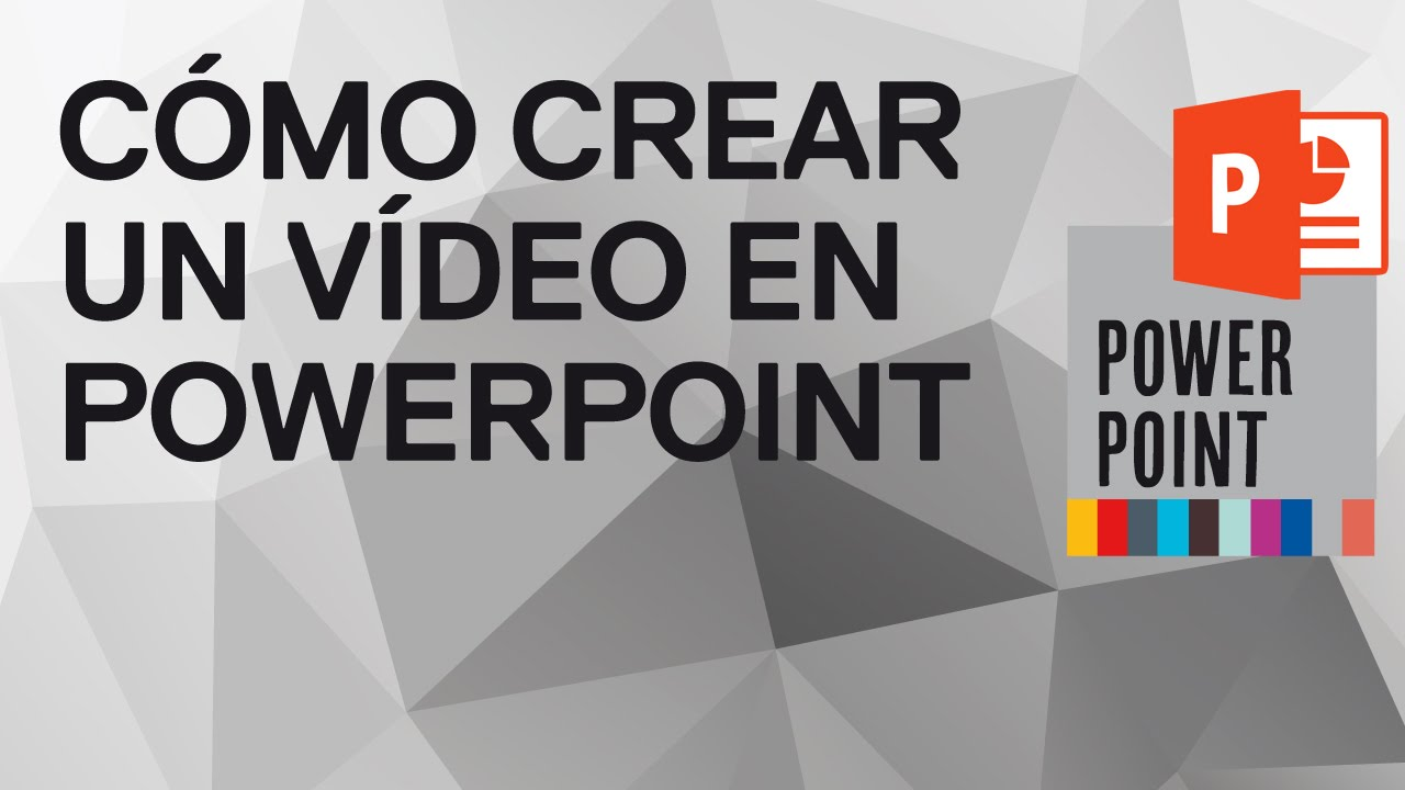 Como Hacer Un Video En Powerpoint 2010 Y 2013 Youtube