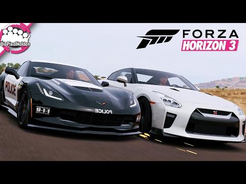 FORZA HORIZON 3 - CvR - Highway Patrol - MULTIPLAYER - Let's Play Forza Horizon 3