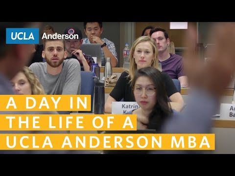 a day in the life of a ucla anderson mba  a day in the life of a ucla anderson mba