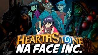 Hearthstone – Na Face Inc. (PARÓDIA DE FEEL GOOD INC.)