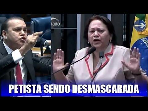 """Criticada por Fátima, """"elite"""" ajudou a elegê-la em 2014, mostra senador em vídeo"""