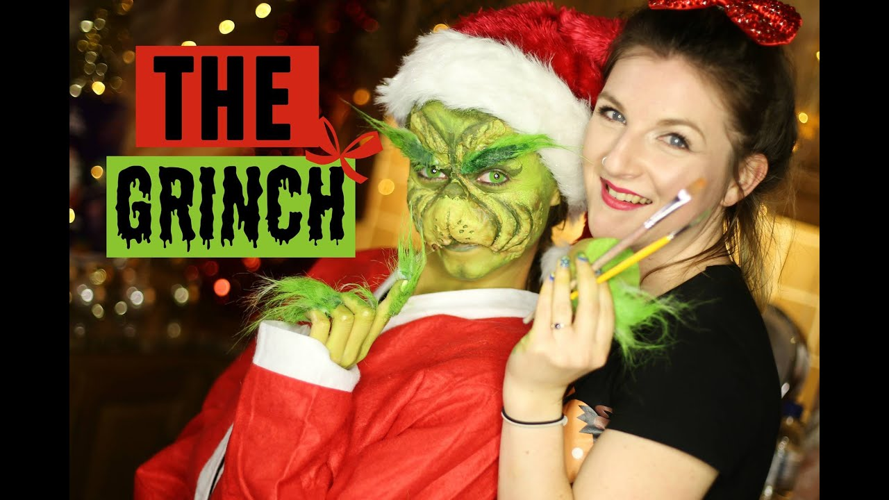 The Grinch Makeup Tutorial 2015  sc 1 st  YouTube & The Grinch Makeup Tutorial 2015 - YouTube
