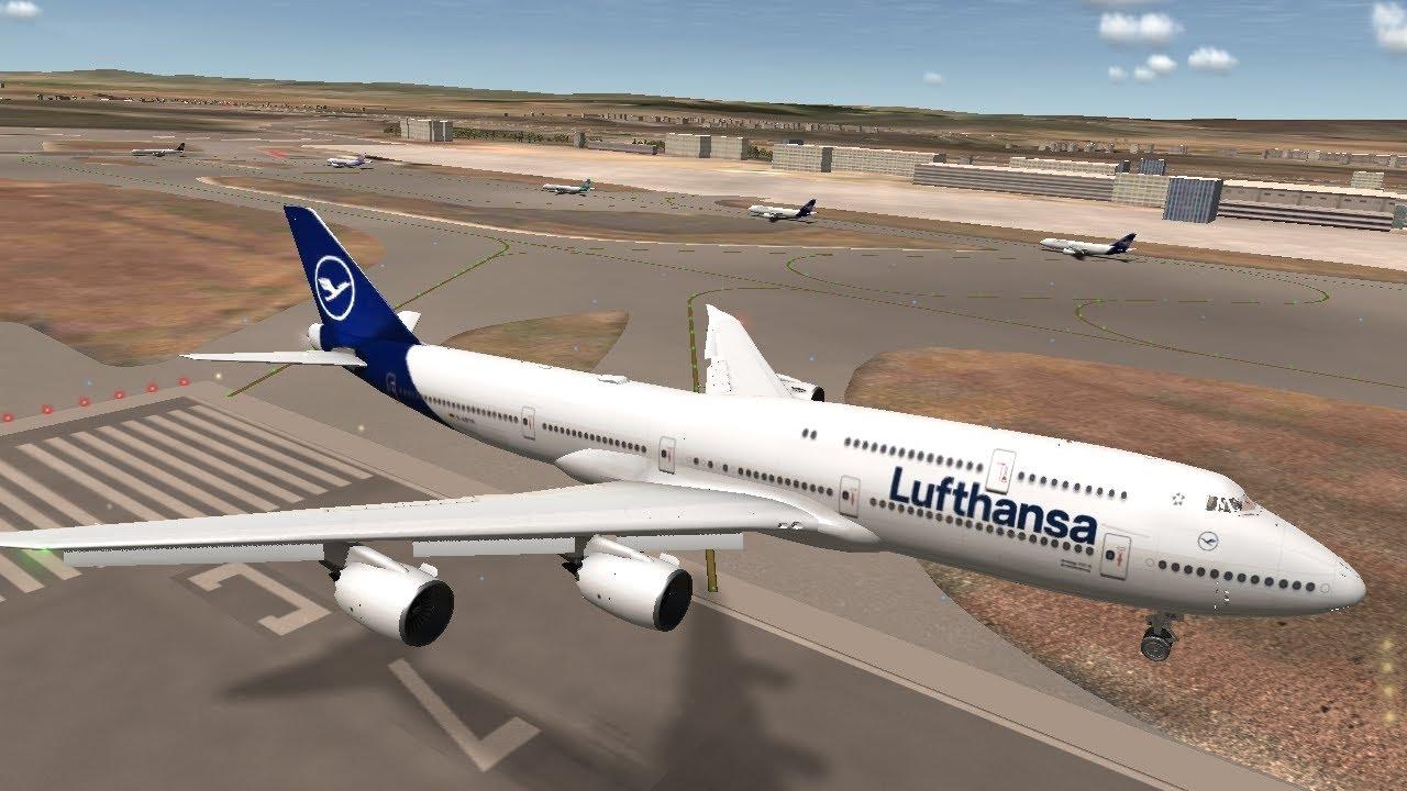 [RFS Real Flight Simulator#606]Lufthansa B747-8I|London-Frankfurt|{1hours}