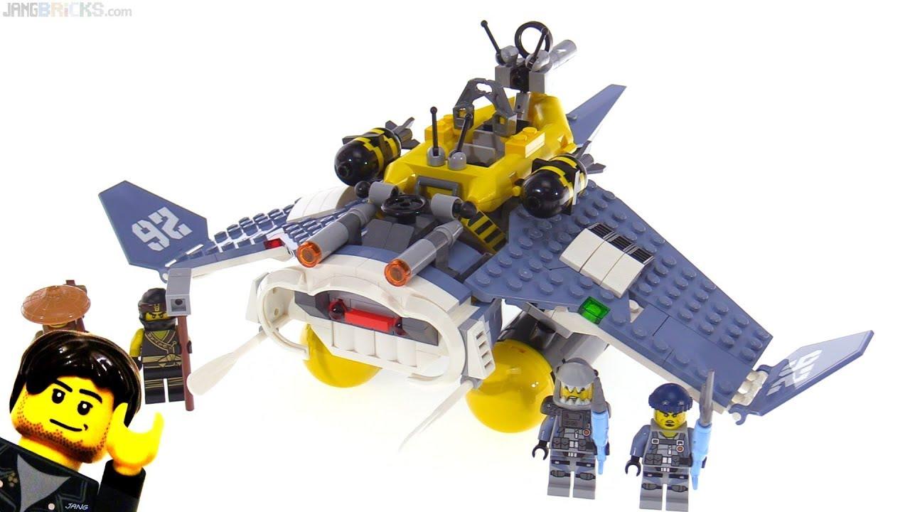 763ad69e3 LEGO Ninjago Movie Manta Ray Bomber review! 70609 - YouTube