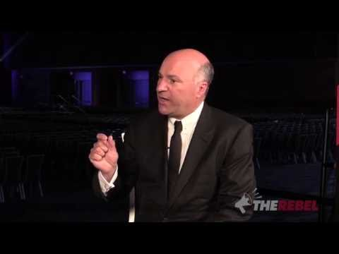 """Kevin O'Leary: """"I speak the language of JOBS"""""""