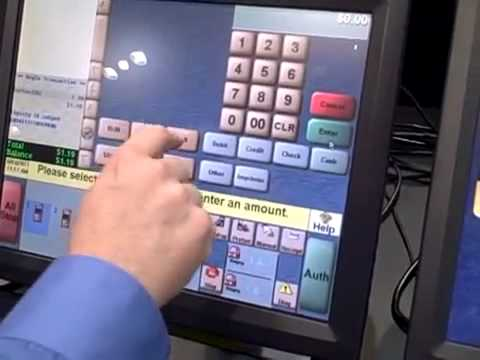 Gilbarco Dual Loyalty Demo Passport Pos Youtube