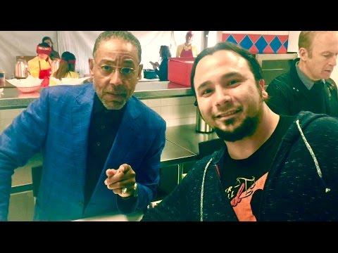 Meet n' Greet signing w/Bob Odenkirk & Giancarlo Esposito at Los Pollos Hermanos Austin SXSW