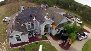 FASTEST ROOF INSTALL EVER - 30 ROOFING SQ in 2 Minutes - HD