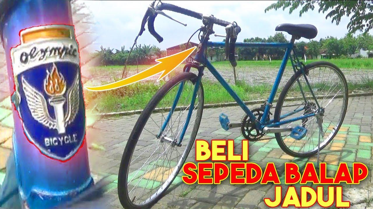 Sepeda Balap Jadul Olympic Original Akhirnya Terbeli Dan Langsung Review Youtube