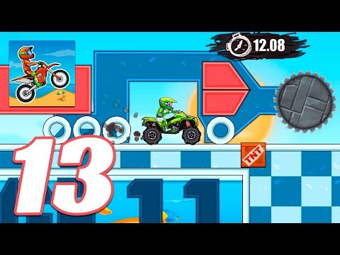 Moto X3M Bike Race Game POOL PARTY - Gameplay Android & IOS Games