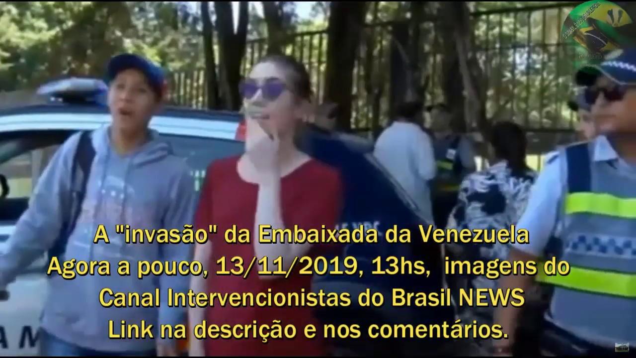 """Embaixada da Venezuela """"Invasão"""""""