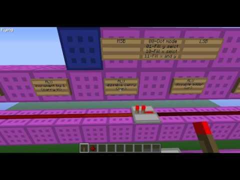 Programming BlueStone, a redstone computer in Minecraft, part 1