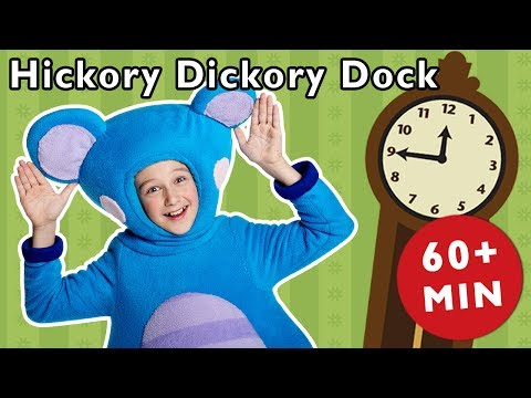 Hickory Dickory Dock and More | Eep the Mouse and Friends | Baby Songs from Mother Goose Club!