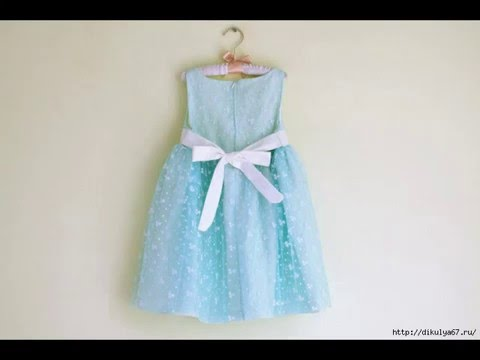Как сшить платье для девочки из старого платья