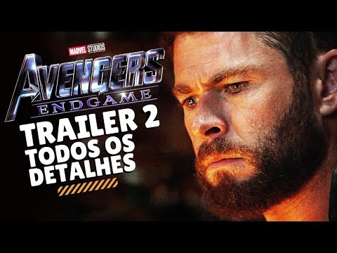 VINGADORES 4 ULTIMATO (ENDGAME) | TRAILER 2 (SUPERBOWL) | REVIEW