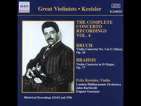 Violin Concerto in D Major, Op. 77 - I. Allegro non troppo