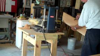 Arts & Craft Bedside Table Part 2 Wood Prep.mp4