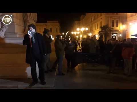 Internetadó: 1500-an demonstráltak Szegeden