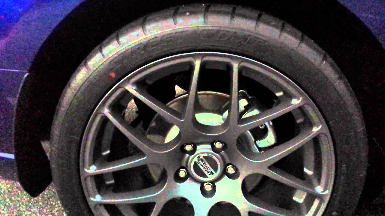 2014 Ford Mustang 5.0 AMR wheels - YouTube