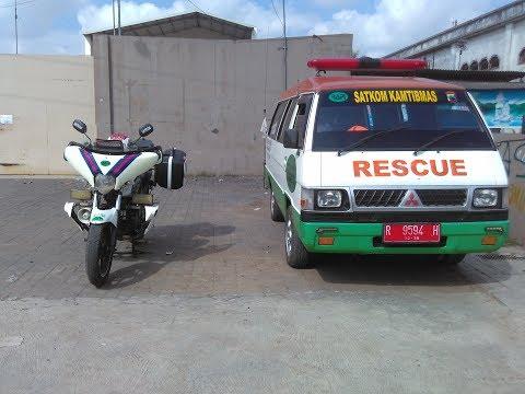 Indonesia Escorting Ambulance Pengawalan Kamboja keluarga anggota RAPI Banyumas