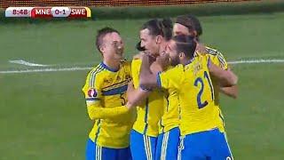 Montenegro vs Sweden 1-1 2014 All Goals & Highlights