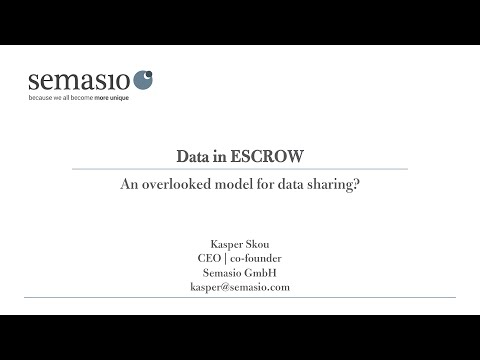 Semasio at the dmexco 2015: Escrow as the new model for data-driven marketing