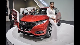 The New 2019 Honda HR-V 1.8 RS Vs 1.8 V Facelift Launched Malaysia Interior Exterior Walk Around 4K