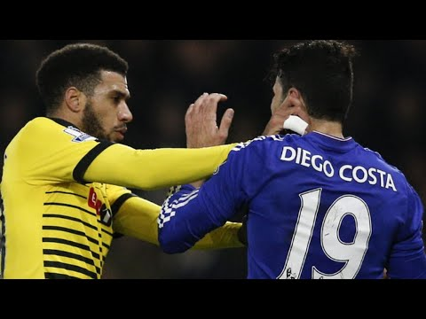 DIEGO COSTA VS WEST HAM !!! ROUGE OU PAS ??? VIDEO