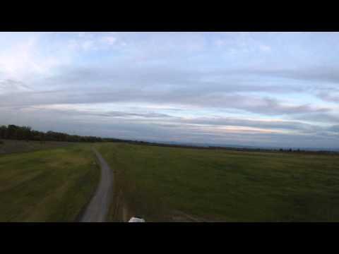 Ground Skimming in my TrikeBuggy Powered Paraglider