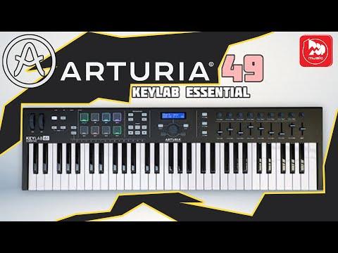 MIDI клавиатуры ARTURIA KeyLab Essential 61, KeyLab Essential 49 Black