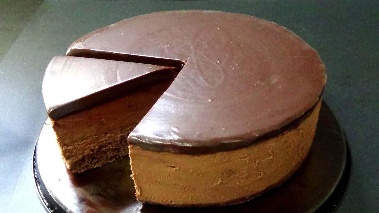 How To Make Dark Chocolate Mousse Cake Step By Step Youtube