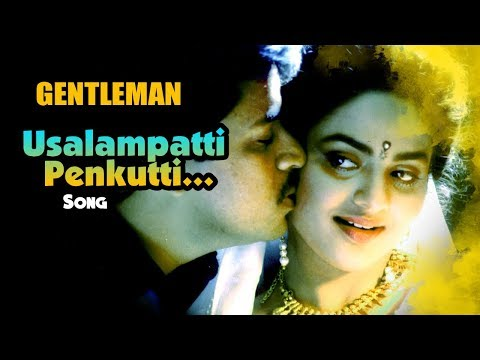 AR Rahman Hit Songs | Usalampatti Penkutti Song | Gentleman Tamil Movie | Arjun | Madhoo | AR Rahman