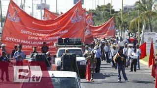 Antorcha campesina marcha en la Ciudad de México / Martín Espinosa