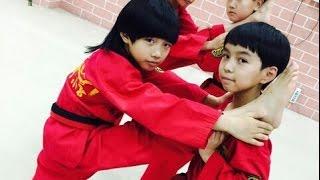 Những cú nhào lộn của Lâm Thu Nam 林秋楠 tricking【龙拳小子】