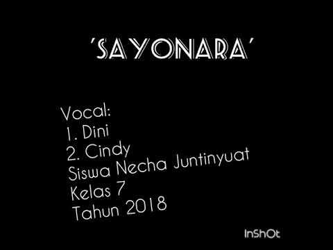 Sayonara - Lagu Perpisahan Guru versi Necha 2018 Arr. Rahmat Pianist