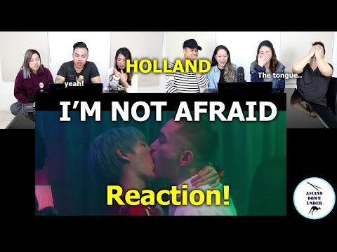 HOLLAND - I'm Not Afraid M/V | Reaction - Australian Asians