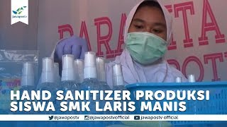 Penyebaran virus corona membuat sejumlah produk penunjang kesehatan langka salah satunya cairan antiseptik atau hand sanitizer. kondisi ini siswa sal...