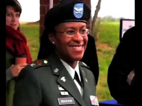 Gwen Bingham Promoted to Commandant - YouTube