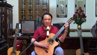 Guitar dem hat HOA SU NHA NANG  Bac Nham