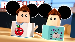 DENIS & CORL BECOME HAMSTERS IN ROBLOX!?
