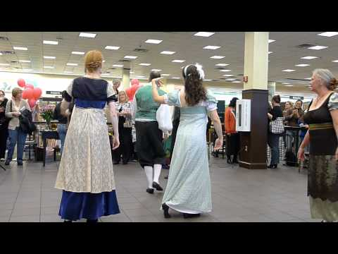 Nonesuch English Country Dancers at Jane Austen Event