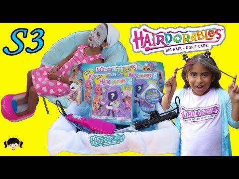 Kim Tiene Un Dia De Spa Con Las Muñecas Hairdorables Serie 3