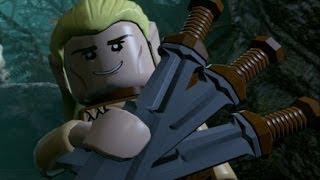 LEGO The Hobbit (PS4) Walkthrough Part 10 - Flies and Spiders